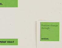 Greenpeace 綠色和平|形象規劃