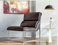 Lounge Chair - CGI