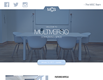 Newsletter Template - Coworking Company