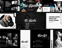 The Hipster Presentation Template