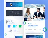Marketing Agency Wordpress Templete