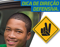 Art Direction: Defensive Driving Campaign - Chesf