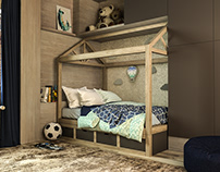 Child bedroom interior design