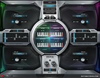 8Dio Rhythmic Revolution Kontakt GUI deisgn