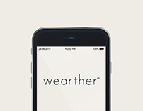 Wearther App Interface