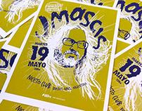 J Mascis en Argentina Poster