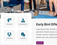 Landing Page | Pipa | Conference Site
