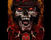 Slayer - Nashville Event Poster