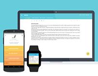 Writo: App Design   |   For aspiring writers & authors