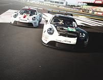 PORSCHE 911RSR #93 Virtual Le Mans