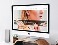 Jewelry Web Design. Mountain Diamond Collection.