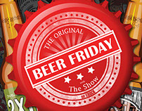 The Shows - The Original Beer Friday Poster