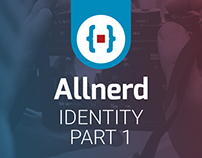 Allnerd Logo design | Identity Part 1