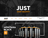 JUST - GRAFFITI SHOP