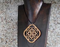 Laser Cut Wooden Jewellery