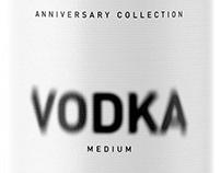 Double Vodka Packaging design