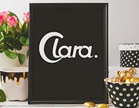 Typography – Clara