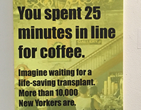 Organ Donation Subway Posters