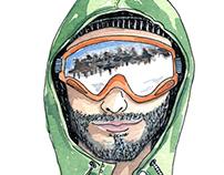 ski people