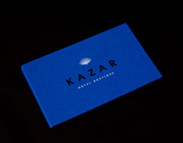 Kazar Hotel Boutique. Logo design