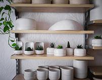 BAS(Barcelona) pottery