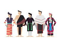 The Book of 53 Vietnamese Minorities