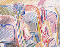 Travel Sketchbook - August '15