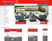 BAUHAUS DE Online Shop