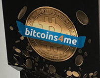 Bitcoins4me ATM Decal