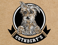 Cuthberts Dog Biscuit Packaging