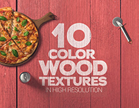 Color Wood Textures x10