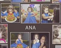 Fotografia + Slideshow de Aniversário Infantil