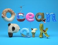 "Ocean Park ""CGI Typography"""