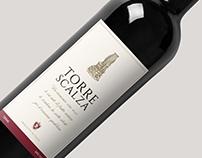 Wine Label Design - Torre Scalza