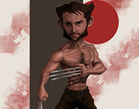 WOLVERINE (OR MORE ACCURATELY, HUGH JACKMAN)