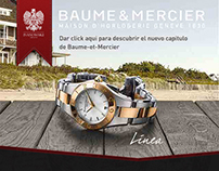 Baume & Mercier - Rich Media Advertisement