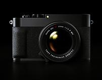 Fujifilm X100F concept
