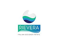 Logo Design and Branding for RIEVERA Paints.