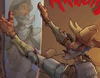 Don Quixote de la Mancha Alternate Cover