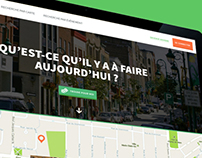 Exploravilles (HackSherbrooke) - Site Web & application