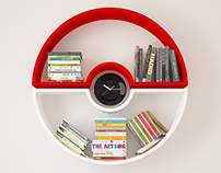 POKEBALL SHELF