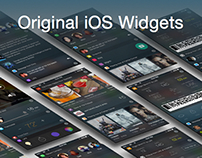 Original iOS Widgets