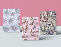 Shiv Illustration / Floral Gift Bags