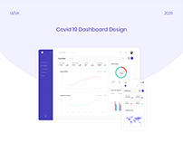Covid-19 Dashboard Design