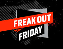 Freak Out Friday – sale campaign