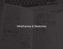 Wireframes & Sketches