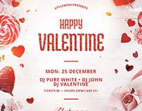 Happy Valentine Flyer