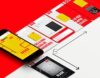 Scribe - website concept