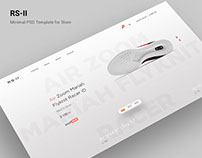 RS-II Store PSD Template