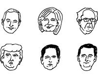 FiveThirtyEight 2016 Political Candidates